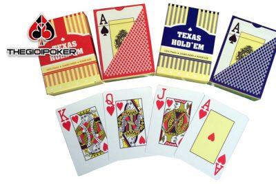 bài tây nhựa poker texas hold em được sử dụng phổ biến trên các câu lạc bộ poker vì nó rất bền, đẹp và sang trọng