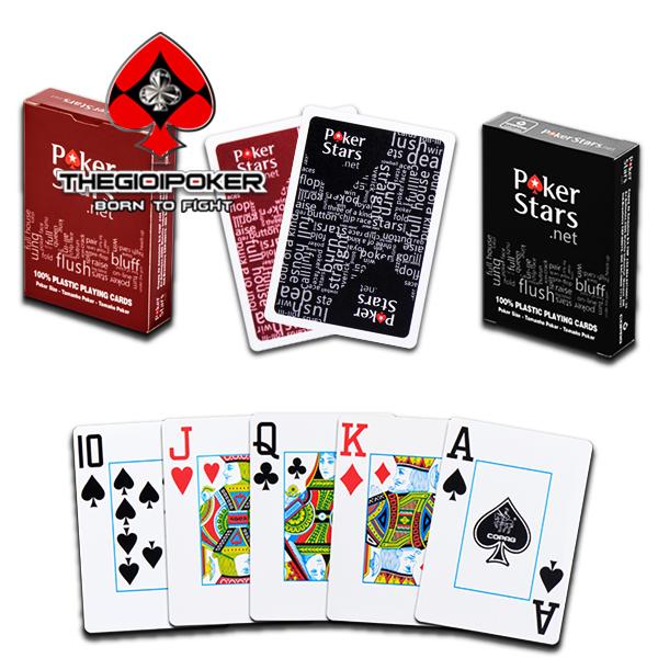 Bài tây nhựa Poker Star được nhập khẩu và phân phối bởi TheGioiPoker