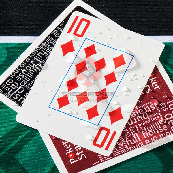 Bài tây nhựa copag poker star được làm 100% plastic chống nước rất tốt