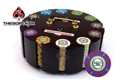chip poker 300 và 500 phỉnh poker the mint có số chất liệu ceramic cao cấp