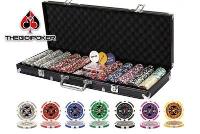 Chip poker có số cao cấp grandma rất chuyên nghiệp sử dụng trong các sòng bài chuyên nghiệp