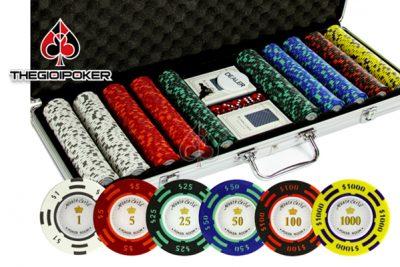 Chip poker có số room cao cấp