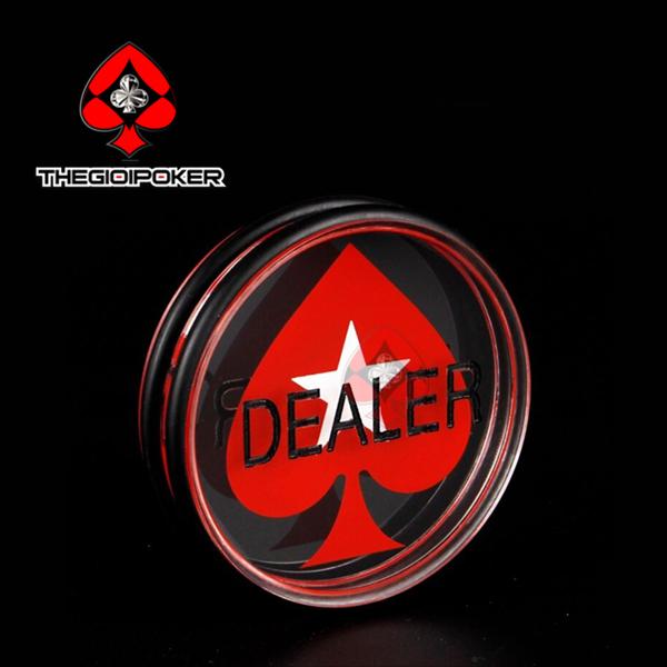 dealer button poker trở nên chuyên nghiệp hơn