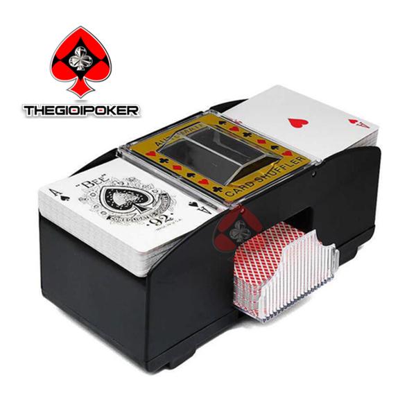 máy xáo bài tự động cash shoe