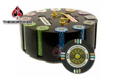 phỉnh poker club gold rush ceramic cao cấp tuyệt đẹp