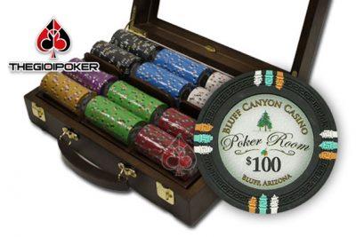 phỉnh poker có só bluff ceramic rất đẹp