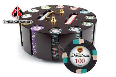 phỉnh poker có số cao cấp chất liệu ceramic chuyên nghiệp
