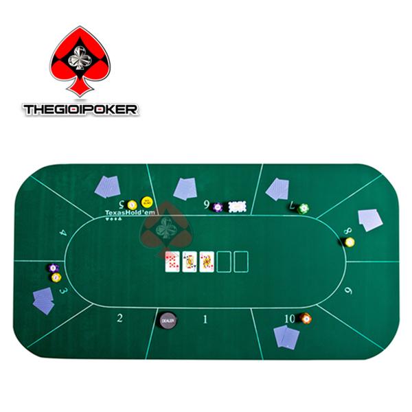 thảm poker cao su cao cấp m1