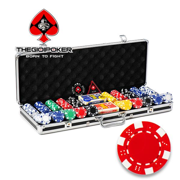 bộ phỉnh poker 500 chip poker ABS