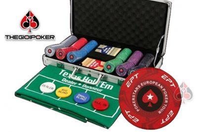 chip poker EPT không số cao cấp được làm từ chất liệu ceramic