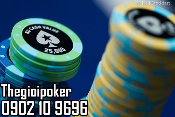 Phỉnh poker có số No cash value