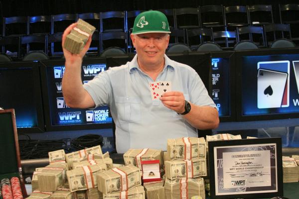 Dan Harrington all-in phỉnh poker để dành chiến thắng