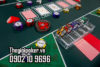 Nên chọn mặt bàn Poker bằng các loại chất liệu mịn, nhẵn