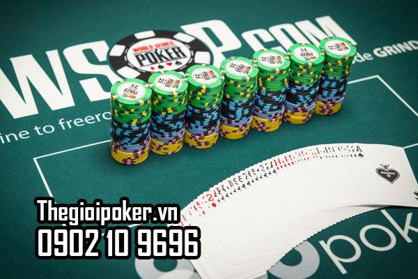 Loại Phỉnh poker phục vụ cho giải đấu WSOP