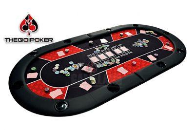 Bàn poker cao cấp đa năng có thể gấp đôi rất tiện lợi