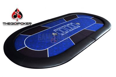 Bàn Poker cao cấp sử dụng phổ biến trong các câu lạc bộ poker