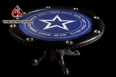 bàn poker hình tròn cao cấp được thiết kế rất đẹp