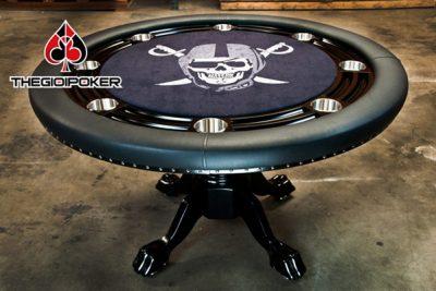 Bàn Poker cao cấp hình tròn B3 rất đẹp