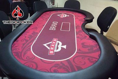 Bàn Poker cao cấp B3 được sử dụng phổ biến trong các club poker