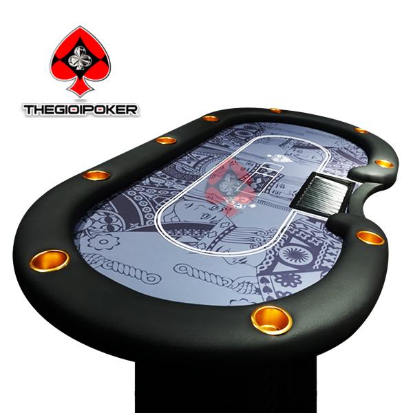 bàn chơi poker thiết kế riêng theo yêu cầu của khách hàng, chuyên làm bàn cho các câu lạc bộ club poker chuyên nghiệp tại việt nam