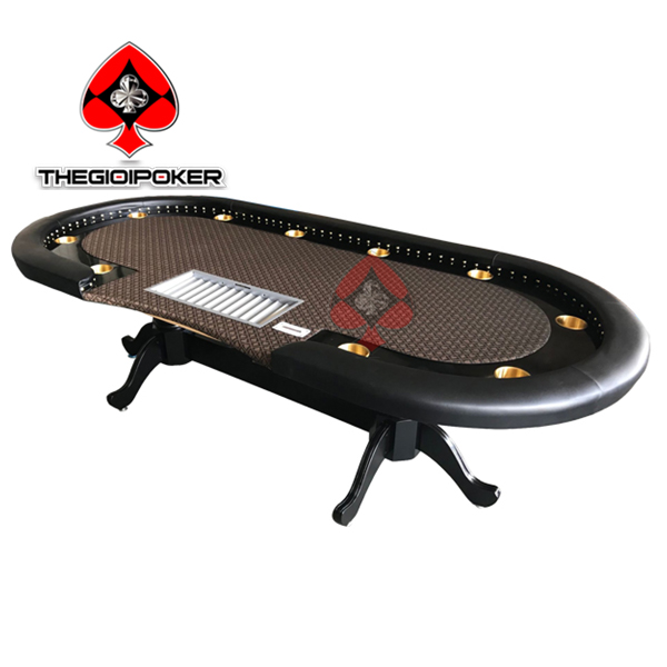 bàn poker cao cấp nhập khẩu mẫu mới nhất 2020 thiết kế riêng biệt cho các club poker cao cấp