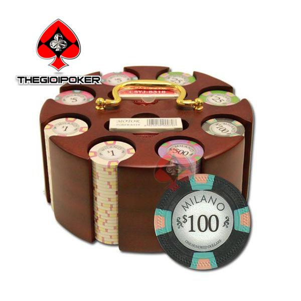 poker chip se clay smith milano 300 phỉnh poker có số cao cấp