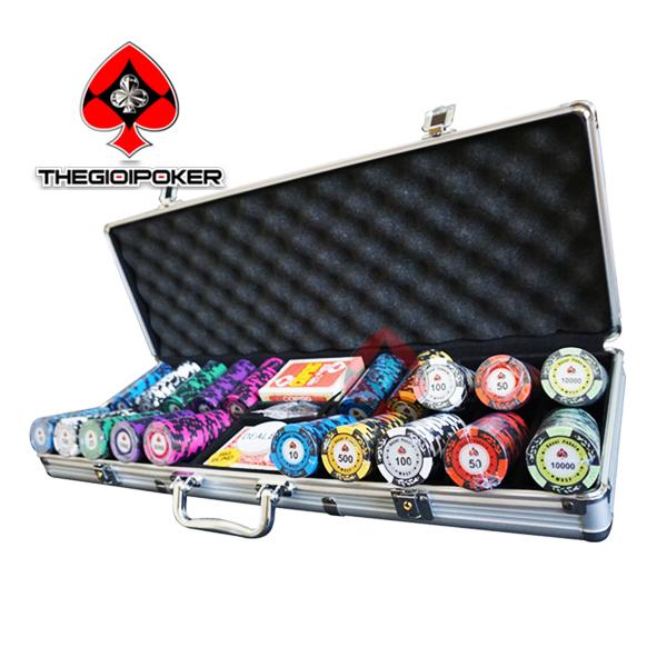 phỉnh poker clay cao cấp có số royal poker
