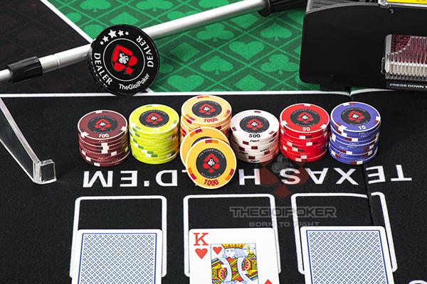 Phỉnh poker ceramic chính hãng TheGioiPoker