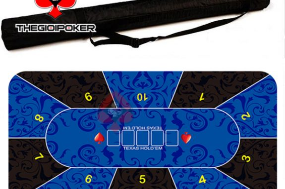 thảm poker cao su cao cấp