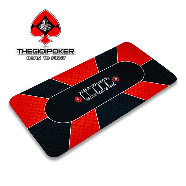 Thảm poker cao su cao cấp 90x180cm