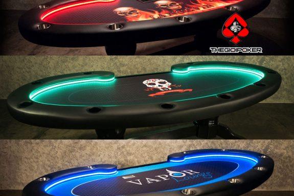 Poker table custom riêng theo yêu cầu của khách hàng