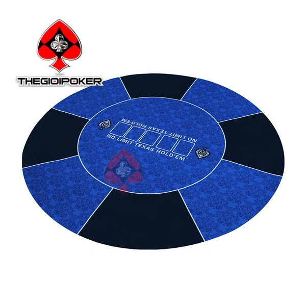tham-poker-cao-su-tron-xanh-da-troi-game-land
