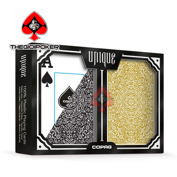 bài nhựa poker copag unique luxury 02