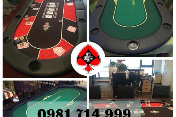 Bàn Chơi Poker chuyên nghiệp rất tiện lợi