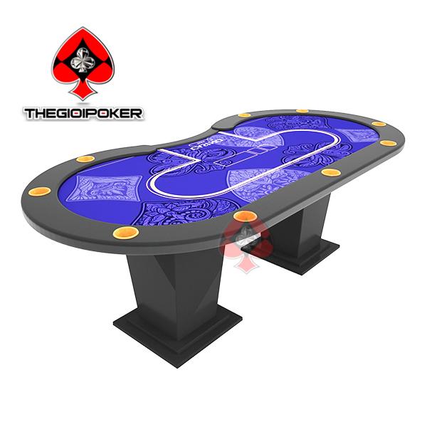 Bàn Poker cao cấp B8 dành cho 10 người chơi đẳng cấp
