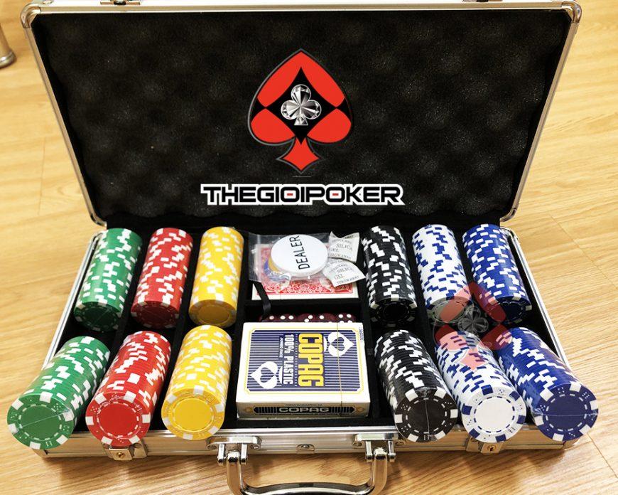 Phỉnh poker 300 chip poker không số cao cấp