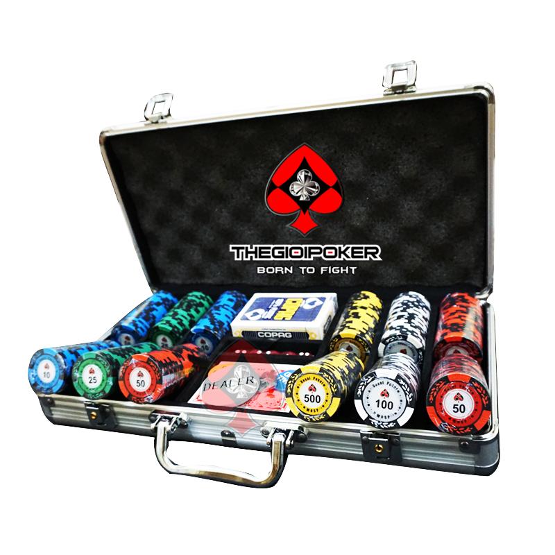 Vali 300 phỉnh poker clay royal Poker
