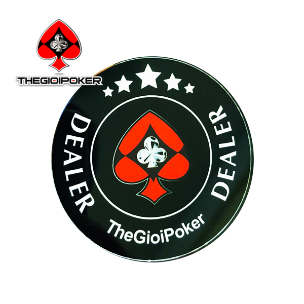 Thẻ DEALER Button poker TheGioiPoker cực chất