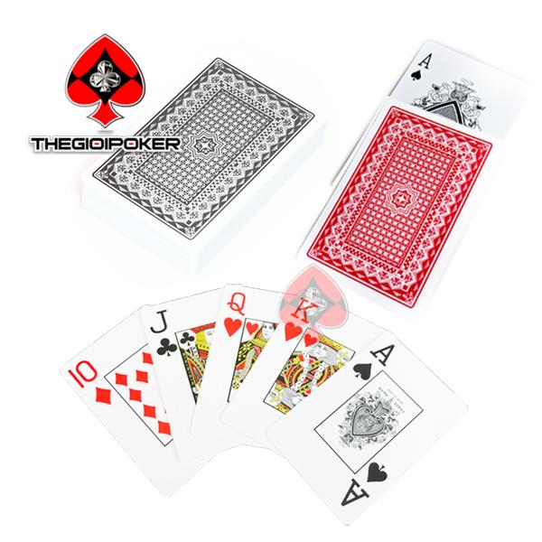 bài tây nhưa poker royal 100% plastic