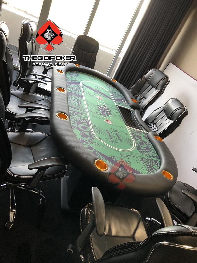 Bàn chơi poker chuyên nghiệp dành cho 10 người chơi