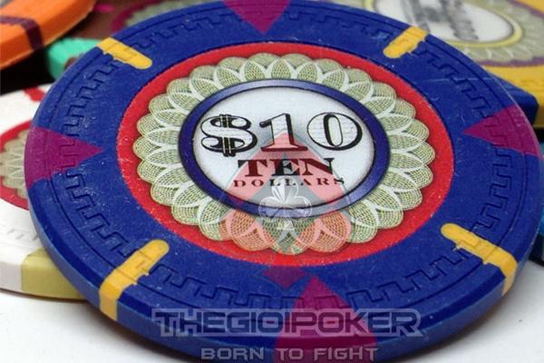 Chip Poker được làm từ chất liệu Full cao cấp rất đẹp và sang trọng