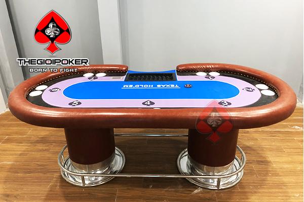 Bàn Poker Customize thiết kế riêng dành cho những club nổi tiếng việt nam