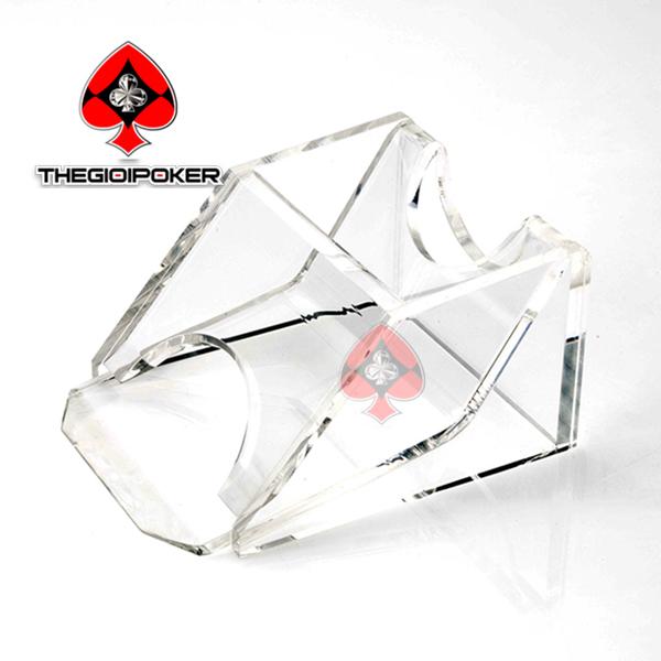 Hộp chia bài Card Shoe 1 bộ màu trắng chống gian lận