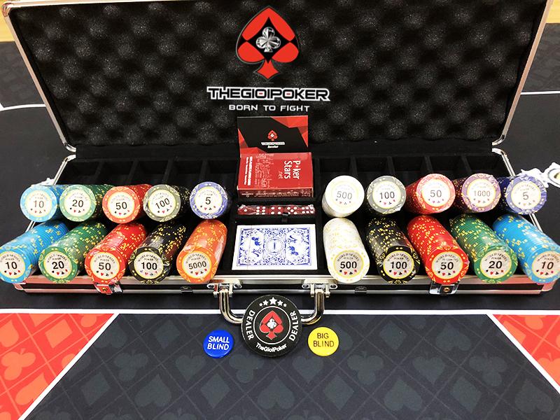 Phỉnh poker 500 chip clay wsop được thiết kế rất đẹp