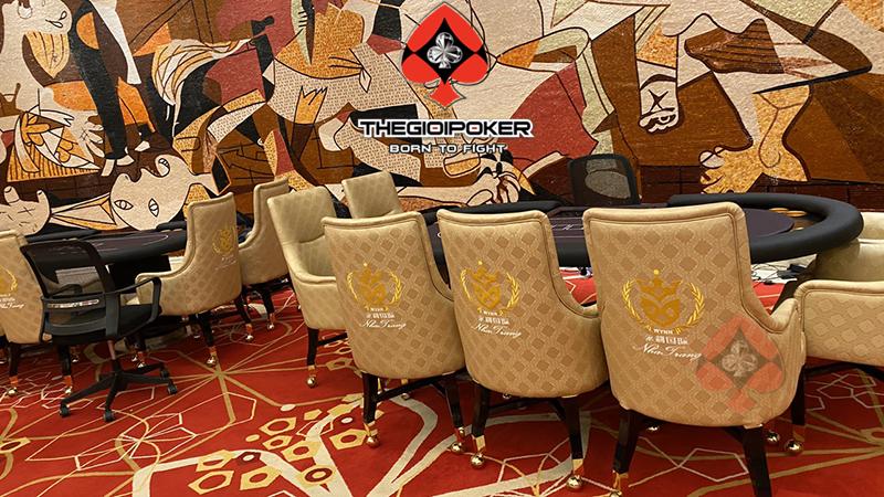 Với giai đoạn 1 THEGIOIPOKER bàn giao 2 bàn poker VIp cho WYNN