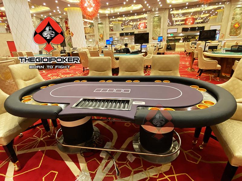 Bàn POker Cao Cấp được THEGIOIPOKER thiết kế dành riêng cho WYNN club poker