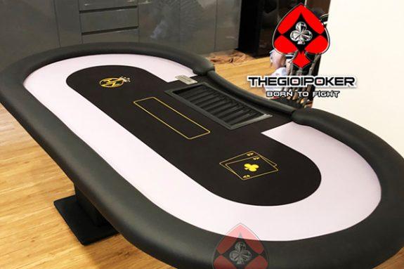 Bàn chơi poker club custom thiết kế riêng theo yêu cầu của khách hàng