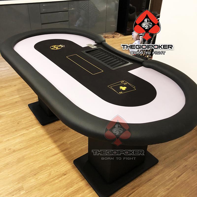 bàn Poker cao cấp custom thiết kế dành riêng cho club bởi TheGioiPoker