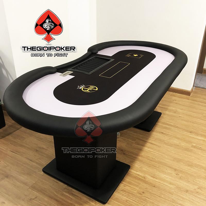 Bàn Poker cao cấp thiết kế riêng chỉ có tị Thegioipoker