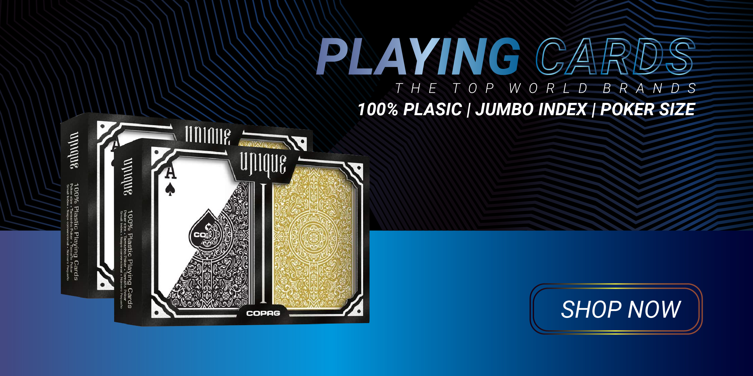 Playing Card 100% plastic